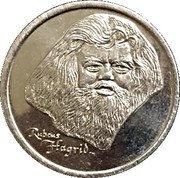 Token - Harry Potter and the Philosopher's Stone (Hagrid) – obverse