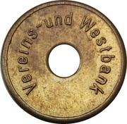 Token - Westbank – obverse