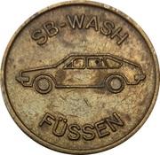 Car Wash Token - SB Wash (Füssen) – obverse