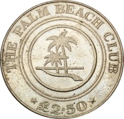 2.5 Pounds - Palm Beach Club – obverse