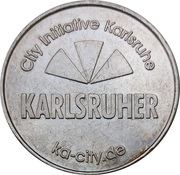 Token - Karlsruher Möbilitats bonus system – obverse