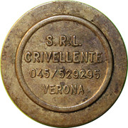 Token - Crivellente S.R.L. (Verona) – reverse