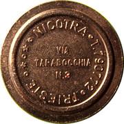 Token - Nicotra (Trieste) – reverse