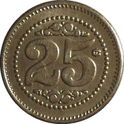 25 Cents - Casino Entertainment – reverse