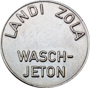 Car Wash Token - Landi Zola – obverse