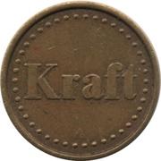 Coffee Machine Token (Kraft with 42 beads and triangular mintmark; 21 mm) – obverse