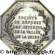 Société de défense des intérets de la vallée de la Seine – reverse
