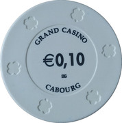 10 Cents - Grand Casino (Cabourg) – reverse