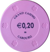 20 Cents - Grand Casino (Cabourg) – reverse