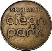 Car Wash Token - Kärcher Clean Park (Autohaus Reinhard, Zweibrücken) – reverse