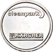 Car Wash Token - Kärcher Clean Park (Villingen) – reverse