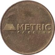 Parking Token - Metric Parking – obverse
