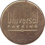 Parking Token - Universal Parking – obverse