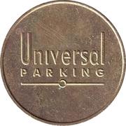 Parking Token - Universal Parking – reverse