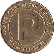 Parking Token - Parking Equipment & Services Ltd. – obverse