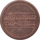 Parking Token - Rosenheimer Chip-System – obverse