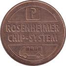Parking Token - Rosenheimer Chip-System – reverse