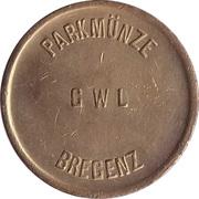 Parking Token - Bregenz GWL (Brass) – obverse