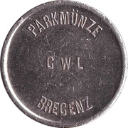 Parking Token - Bregenz GWL (Nickel) – obverse