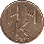 Parking Token - Eeklo HHK – obverse