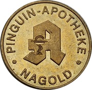 Pinguin Mark - Pinguin Apotheke (Nagold) – obverse