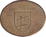 Token - Anstalt Schonbrunn – obverse