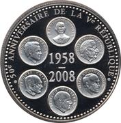 Token - 50e anniversaire de la Ve République – obverse