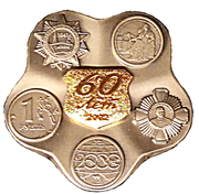 Token - Moscow Mint (60 years of the Mint) – obverse