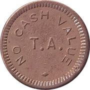 Token - T.A. No Cash Value – obverse