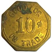 10 Cents - Bill's Cafe (Nemaha, NE) – reverse