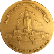 Token - Nebraska Centennial – reverse