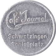 Token - Cafe Journal Schwetzingen Schlossplatz – obverse