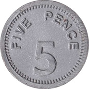 5 Pence - Early Learning Centre Bank – reverse