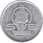 Token - SWB (20) – obverse