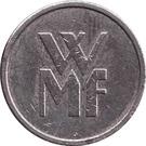 Token - WMF (copper-nickel) – reverse