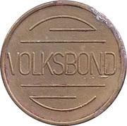 Token - Volksbond – obverse
