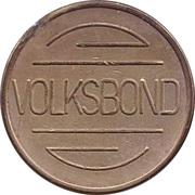 Token - Volksbond – reverse