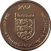Token - Official England Squad 2004 (Paul Scholes) – reverse