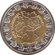 Token - Bundesländersatz Bremen (Bürgermeister-Smidt-Gedächtniskirche) – reverse