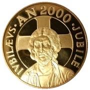 Médaille du Jubilé de l'An 2000 – obverse