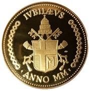 Médaille du Jubilé de l'An 2000 – reverse