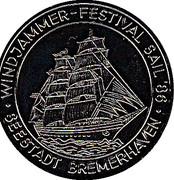 Token - Bremerhaven (Sail 86) – obverse