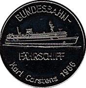 Token - Bremerhaven (Sail 86) – reverse