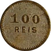 Token - 100 Reis – obverse