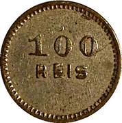 Token - 100 Reis – reverse