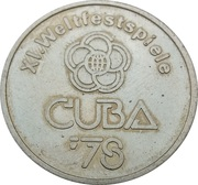 Token - Welfestspiele Cuba '78 – obverse