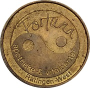 1 Taler - Fortuna Apotheke (Ratingen-West) – obverse