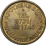 1 Taler - Apotheke 2000 (Ulm-Wiblingen) – obverse