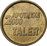 1 Taler - Apotheke 2000 (Ulm-Wiblingen) – reverse
