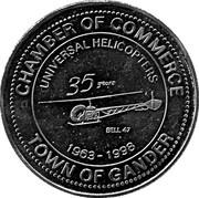 Aviation Dollar - Gander (Douglas DC-4) – obverse